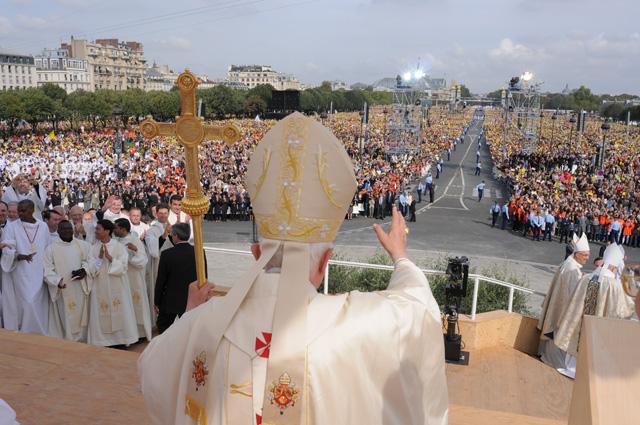 Visite du pape